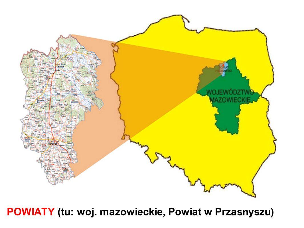 POWIATY (tu: woj. mazowieckie, Powiat w Przasnyszu)