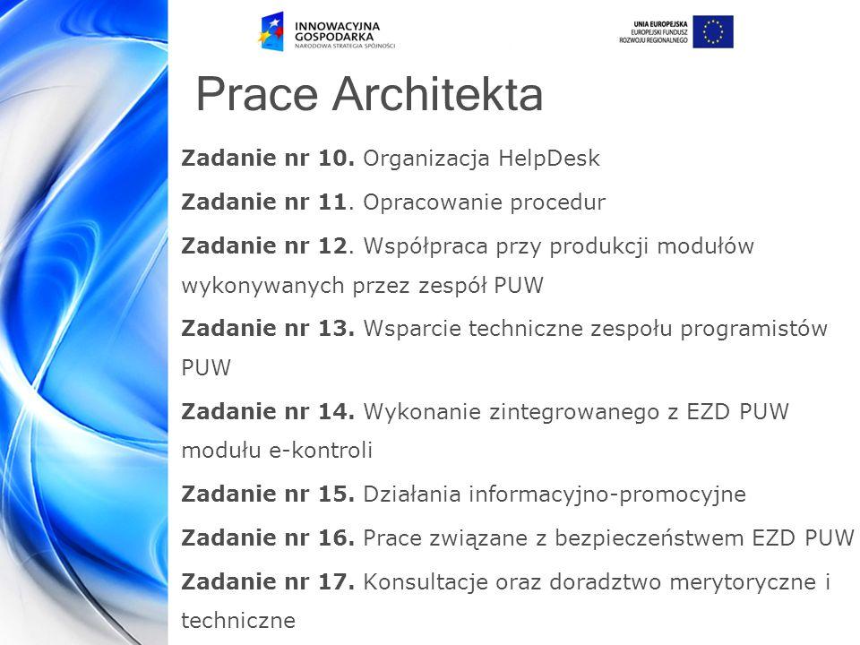 Prace Architekta