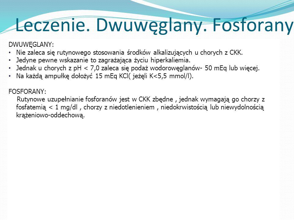 Leczenie. Dwuwęglany. Fosforany