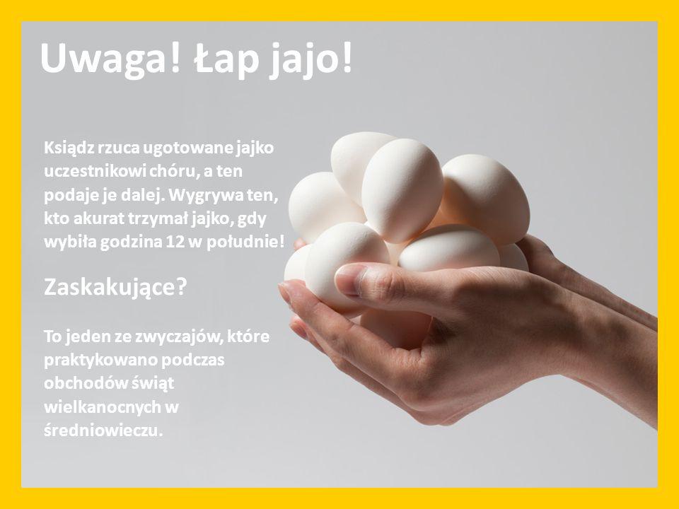 Uwaga! Łap jajo! Zaskakujące