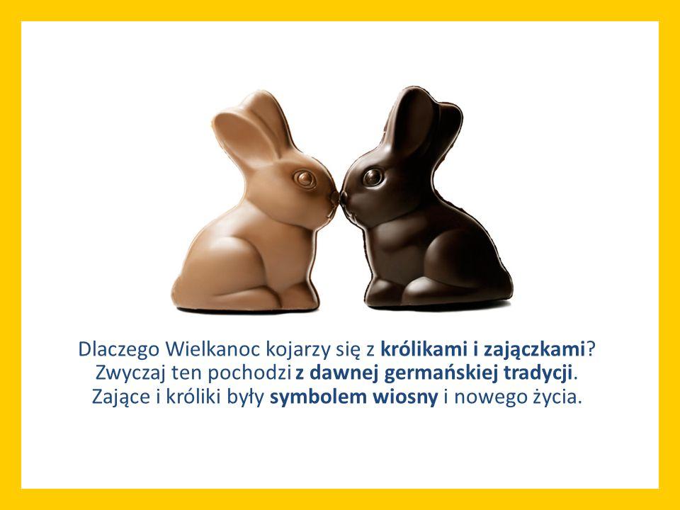 Dlaczego Wielkanoc kojarzy się z królikami i zajączkami