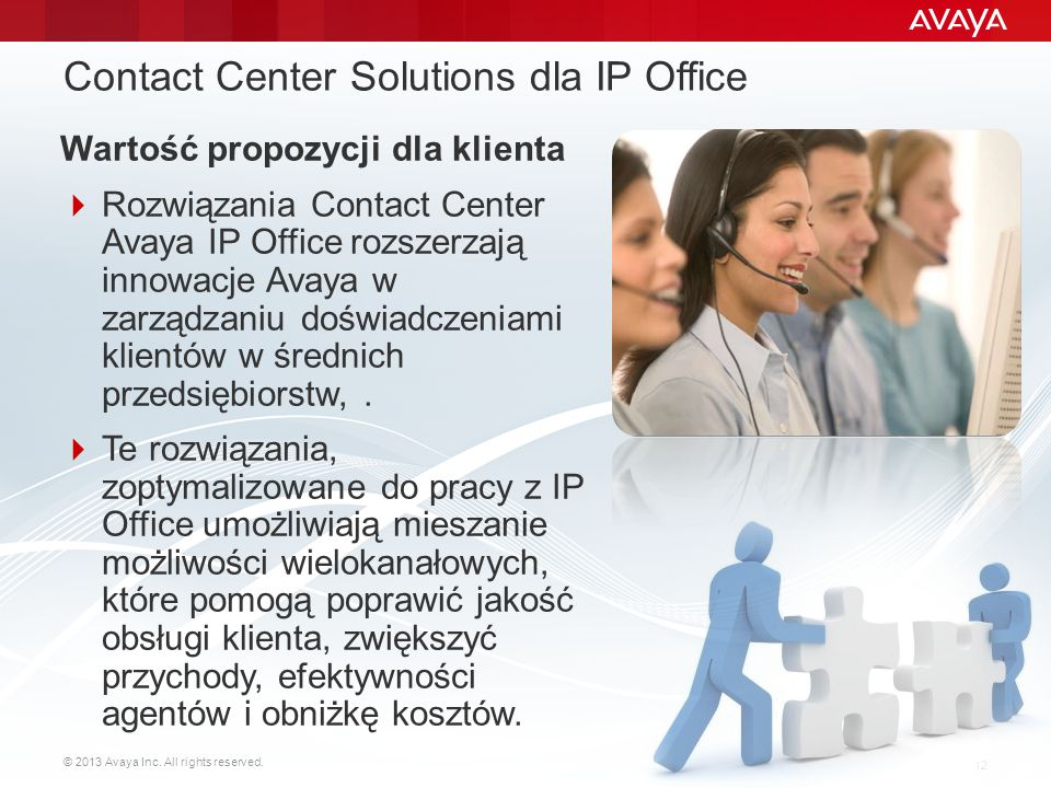 Contact Center Solutions dla IP Office