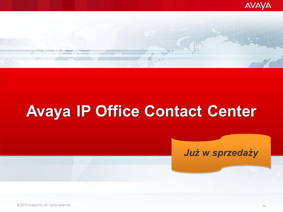 Avaya IP Office Contact Center