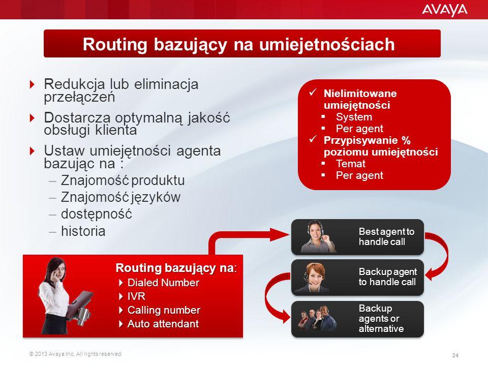 Routing bazujący na umiejetnościach