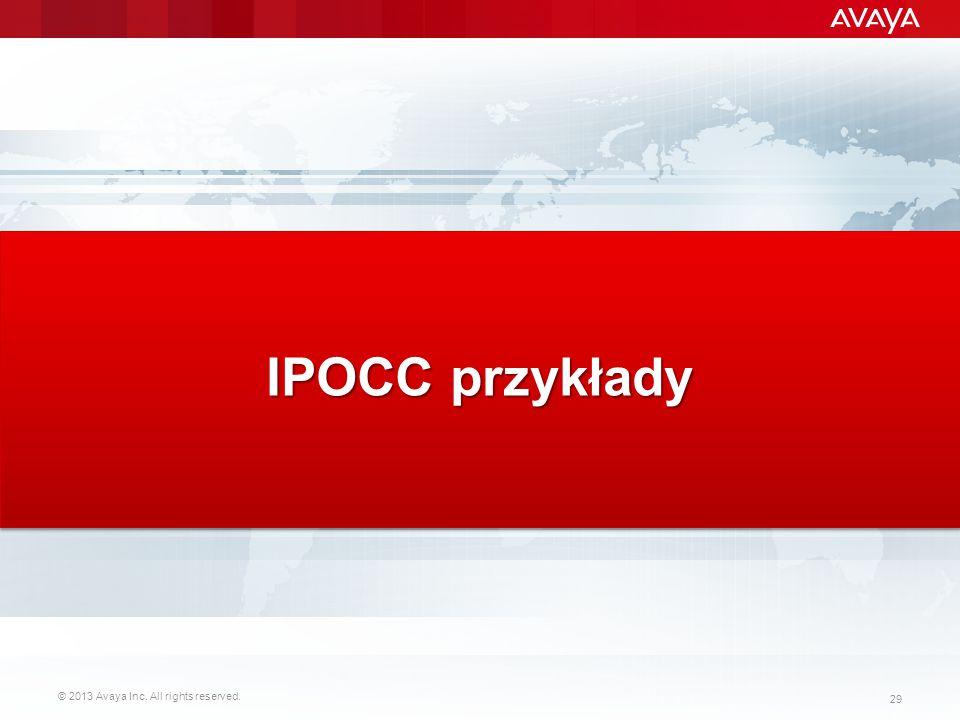 IPOCC przykłady