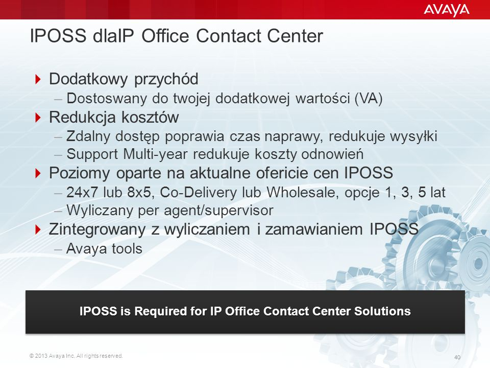 IPOSS dlaIP Office Contact Center