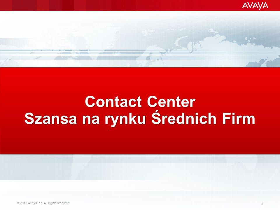 Contact Center Szansa na rynku Średnich Firm