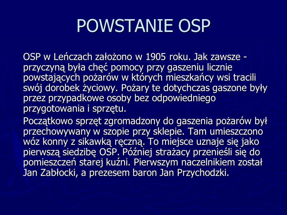 POWSTANIE OSP
