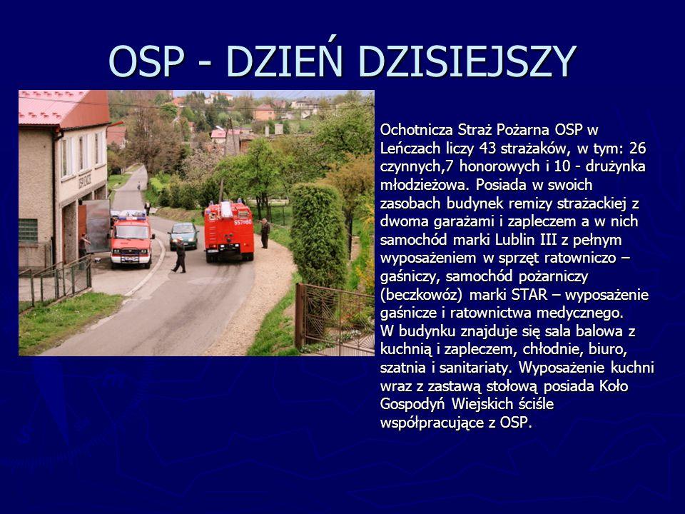 OSP - DZIEŃ DZISIEJSZY