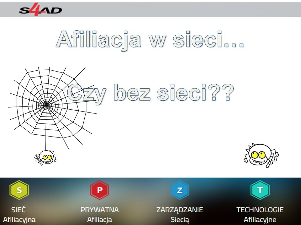 Afiliacja w sieci… Czy bez sieci