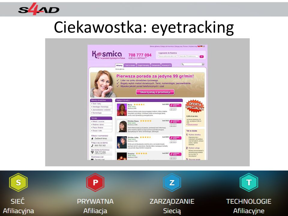 Ciekawostka: eyetracking