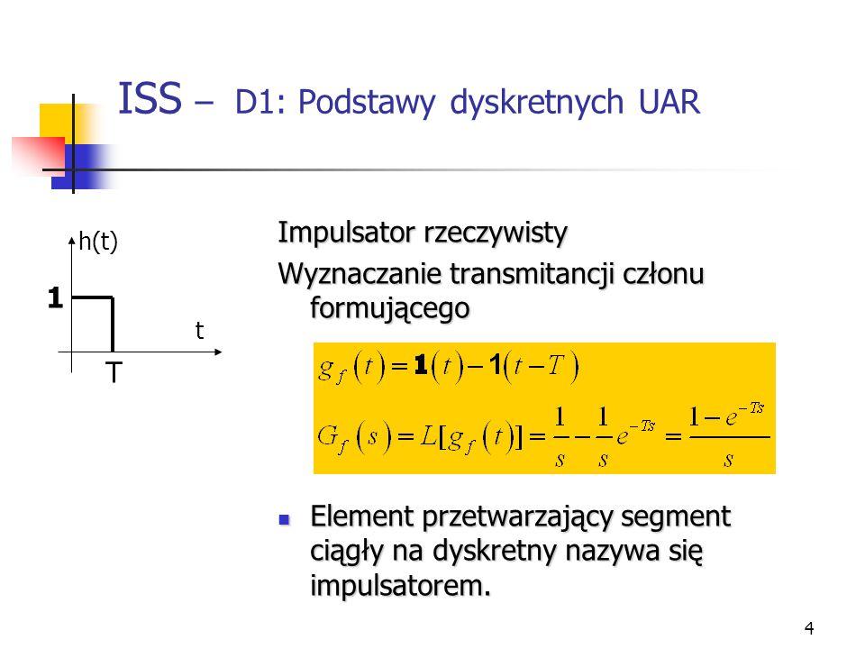 ISS – D1: Podstawy dyskretnych UAR