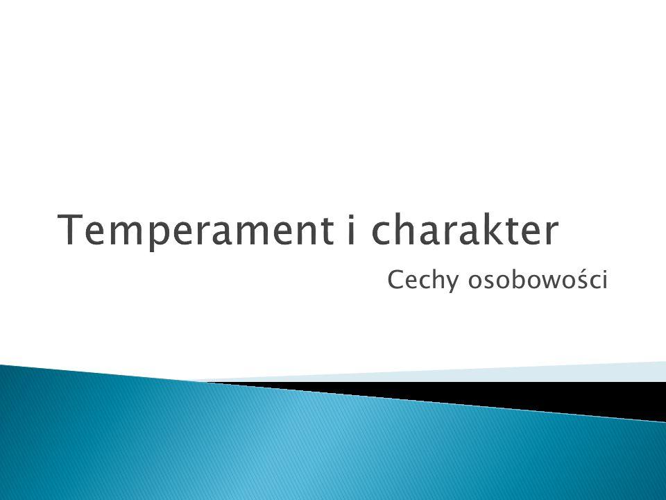 Temperament i charakter