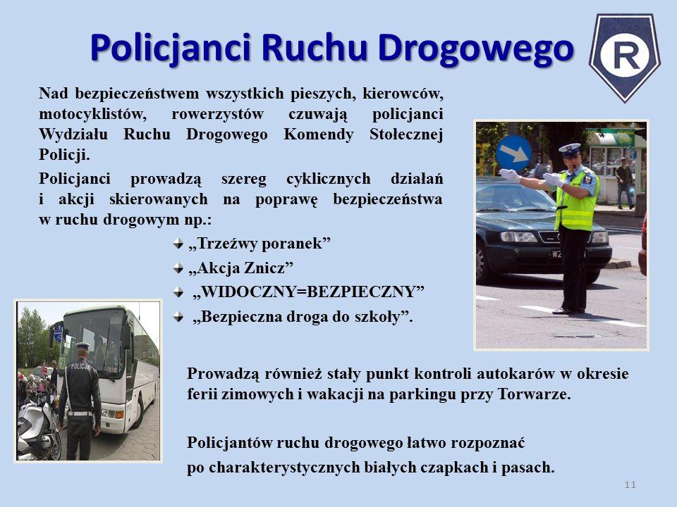 Policjanci Ruchu Drogowego