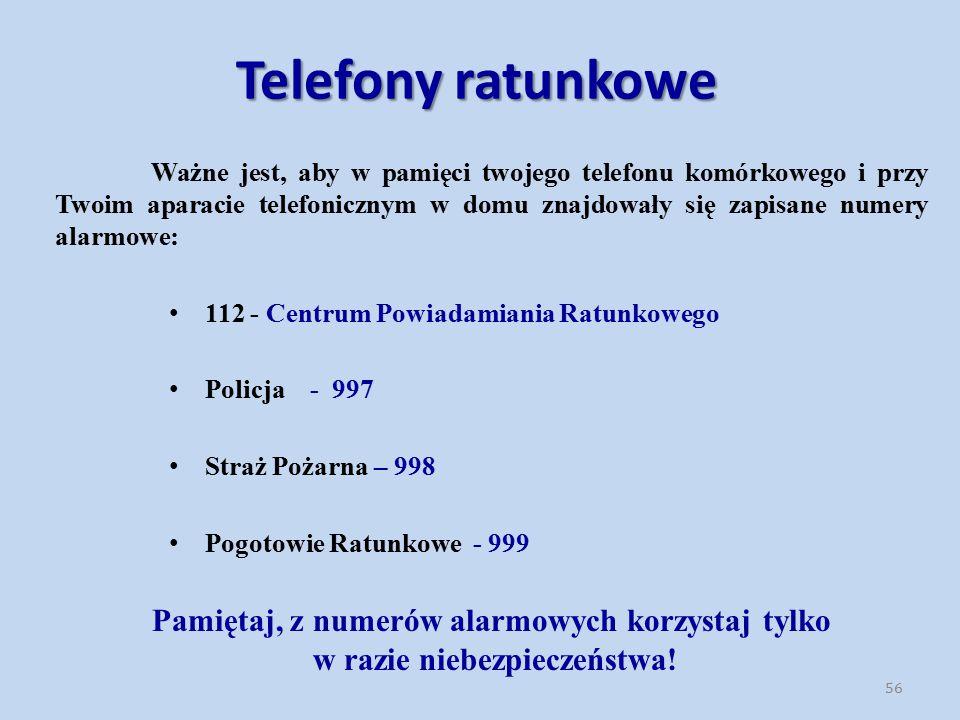 Telefony ratunkowe