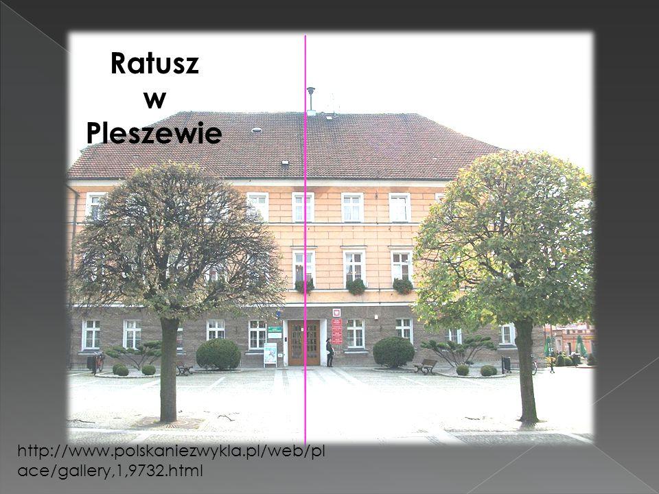 Ratusz w Pleszewie http://www.polskaniezwykla.pl/web/place/gallery,1,9732.html