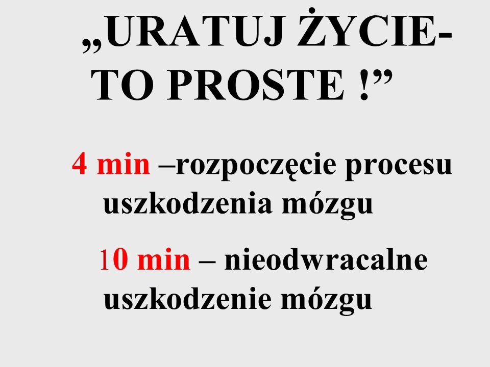 """""""URATUJ ŻYCIE-TO PROSTE !"""