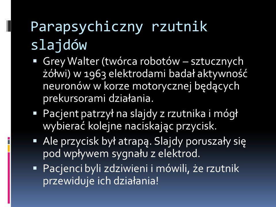 Parapsychiczny rzutnik slajdów