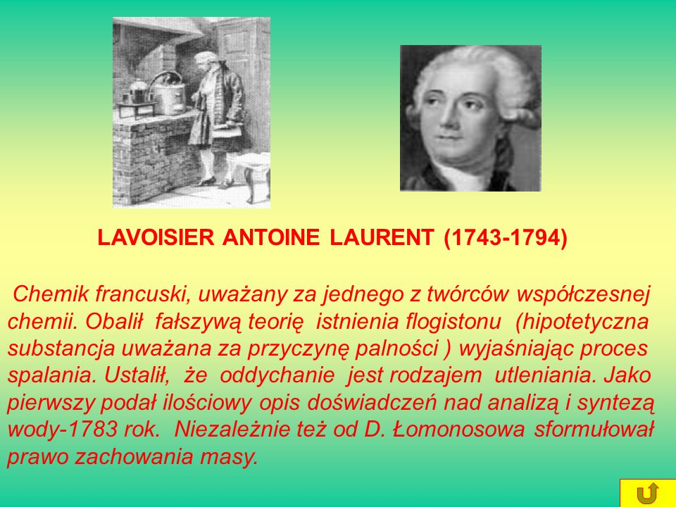 LAVOISIER ANTOINE LAURENT (1743-1794)