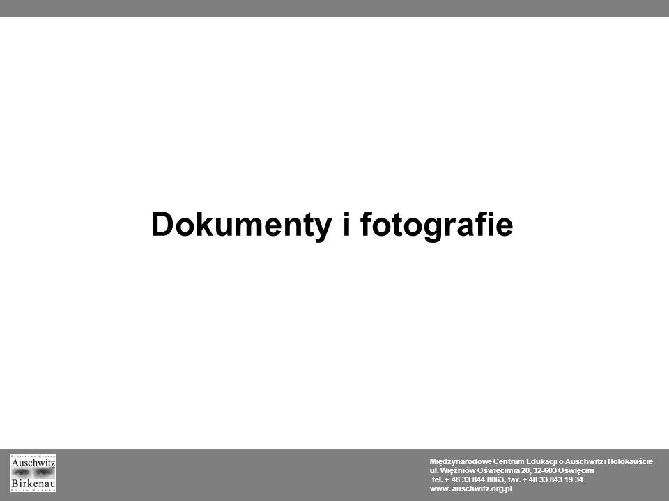 Dokumenty i fotografie