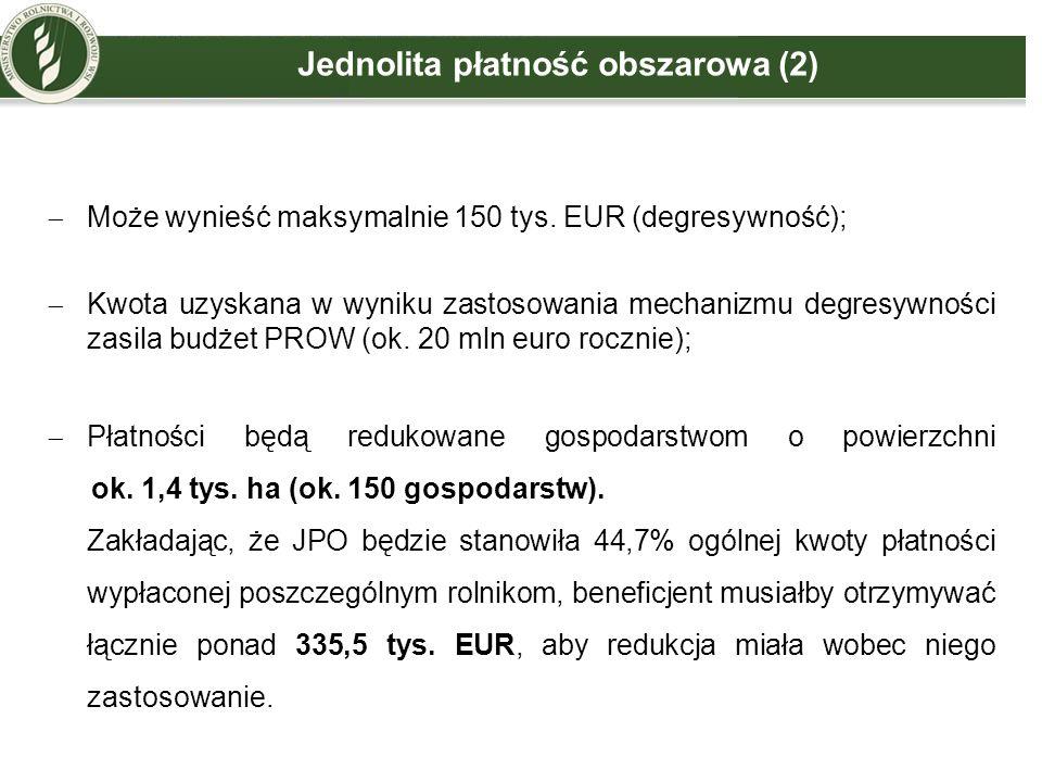 Jednolita płatność obszarowa (2)