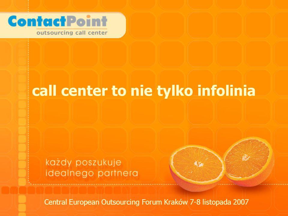 call center to nie tylko infolinia