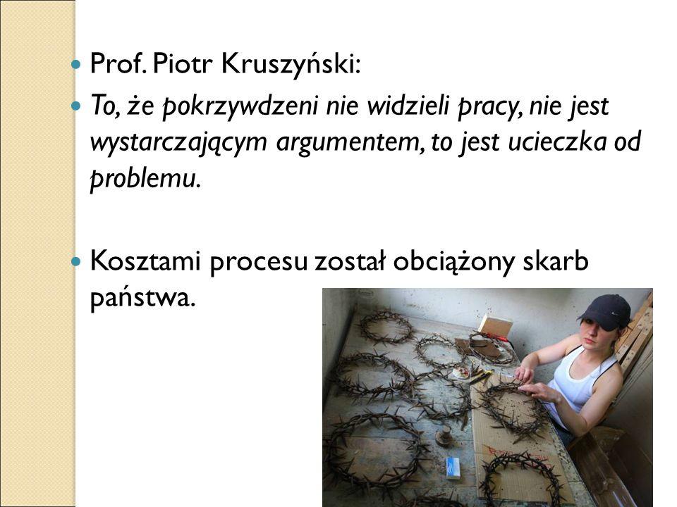 Prof. Piotr Kruszyński: