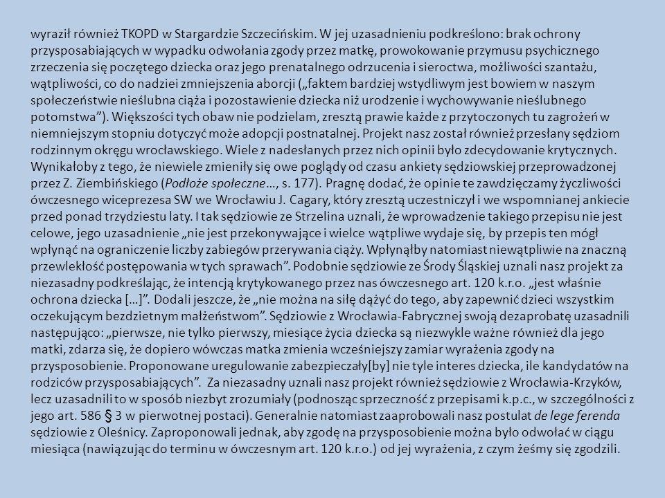 wyraził również TKOPD w Stargardzie Szczecińskim