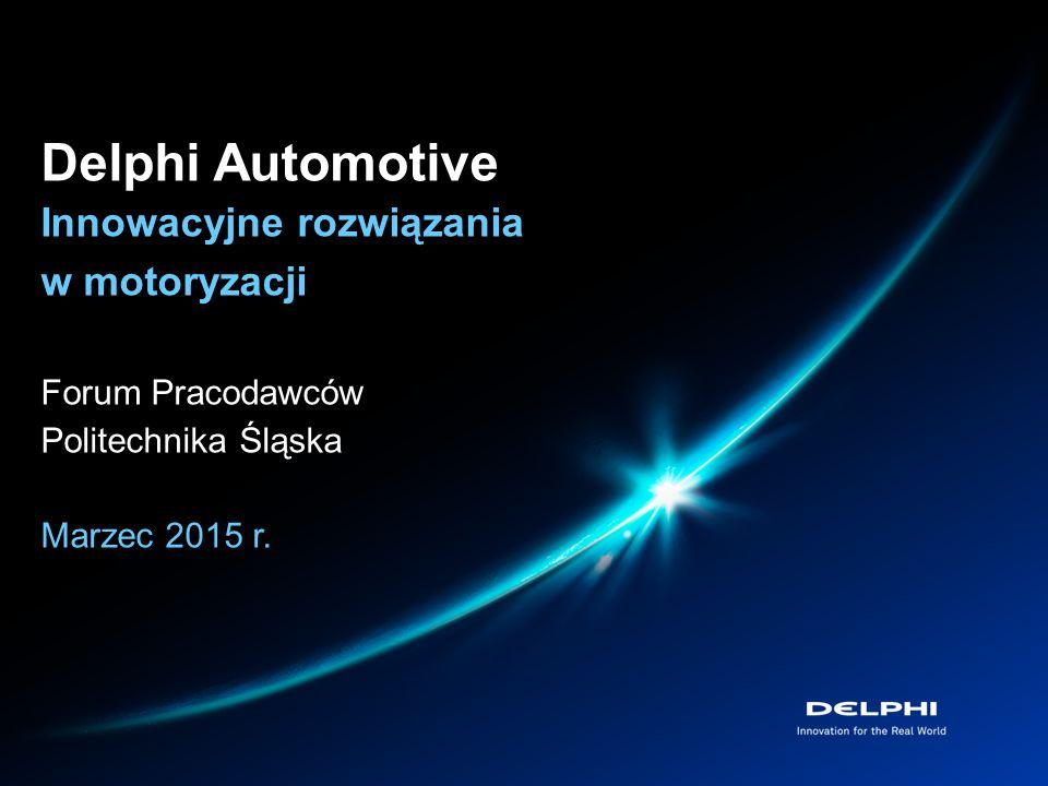 Delphi Automotive Innowacyjne rozwiązania w motoryzacji