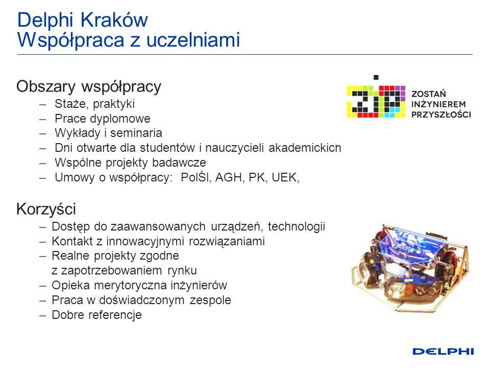 Delphi Kraków Współpraca z uczelniami