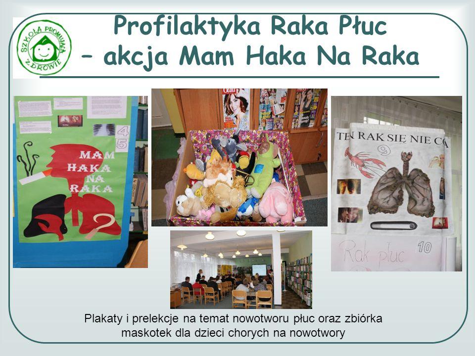 Profilaktyka Raka Płuc – akcja Mam Haka Na Raka