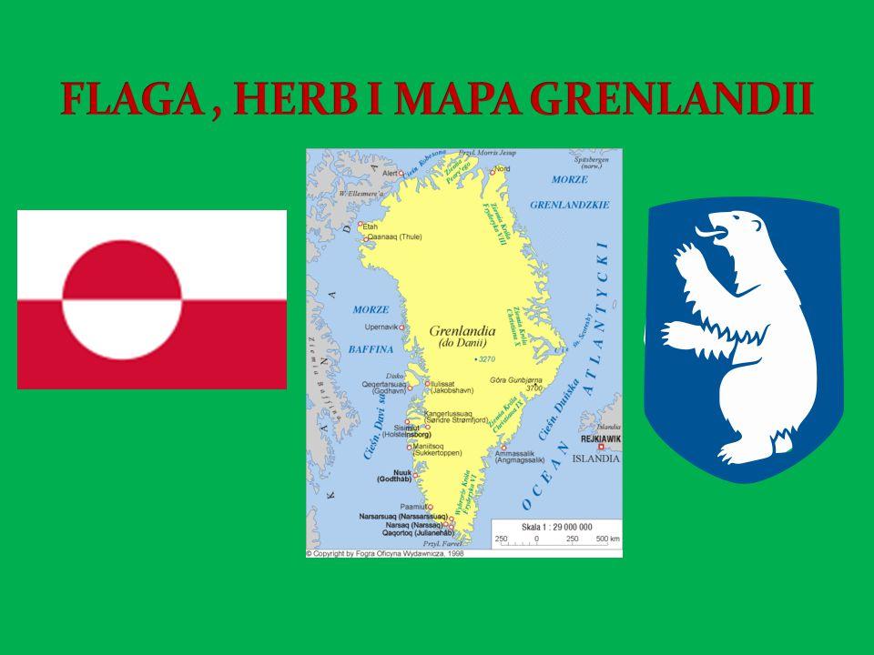 FLAGA , HERB I MAPA GRENLANDII