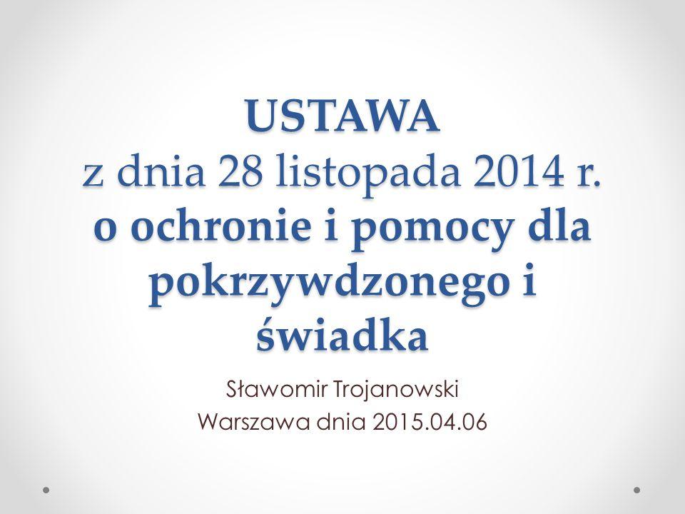 Sławomir Trojanowski Warszawa dnia 2015.04.06