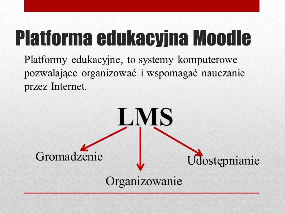 Platforma edukacyjna Moodle