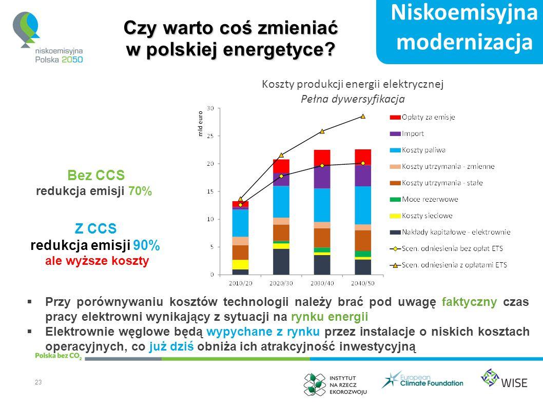 Czy warto coś zmieniać w polskiej energetyce