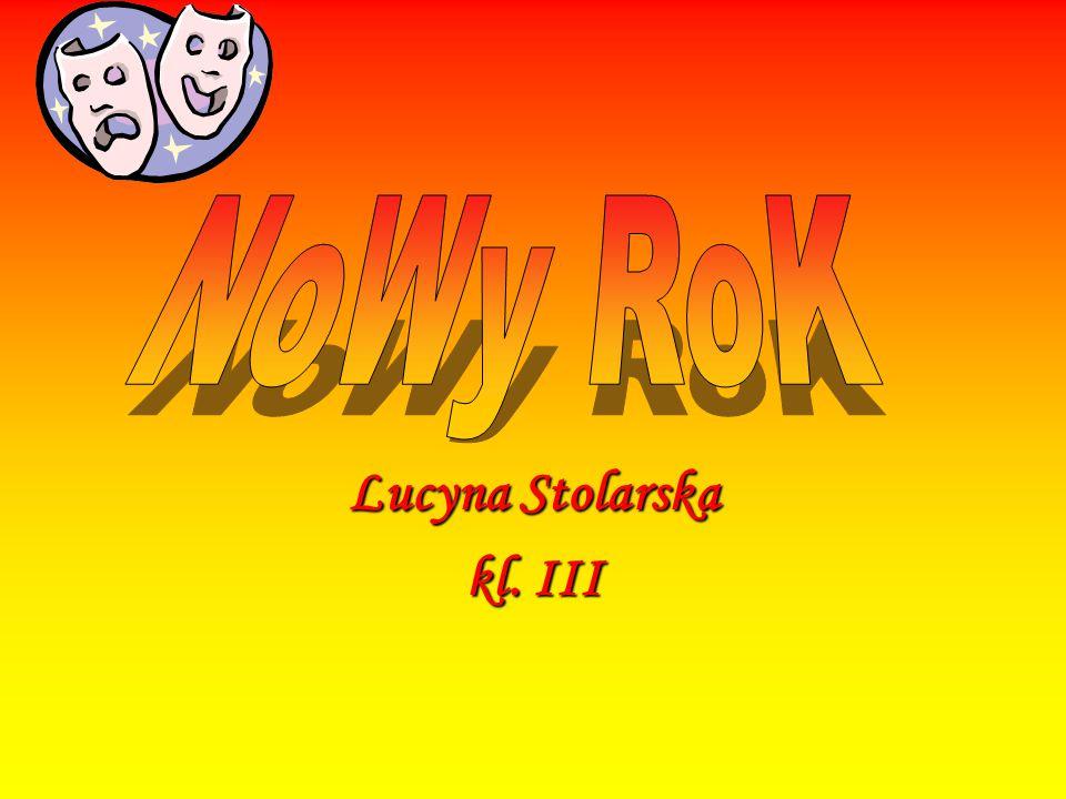 Lucyna Stolarska kl. III