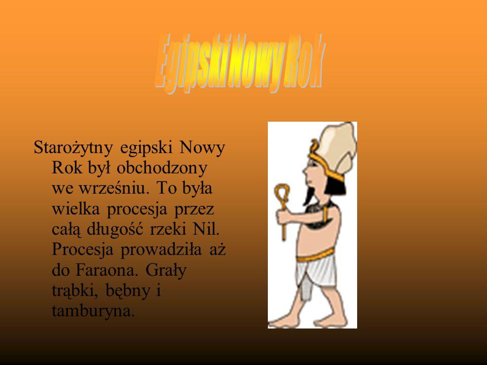 Egipski Nowy Rok