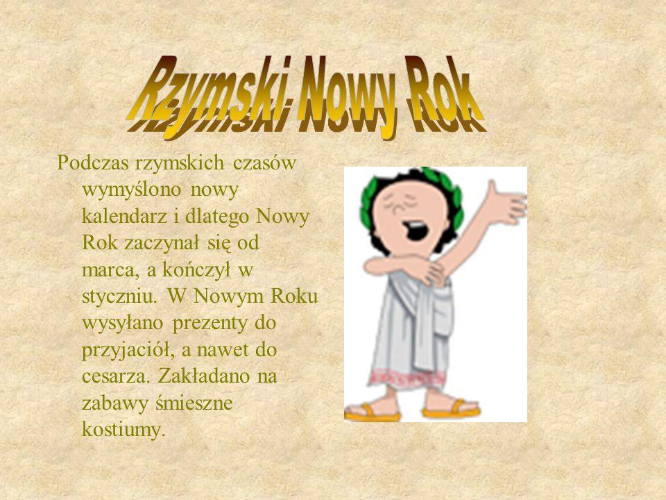 Rzymski Nowy Rok.