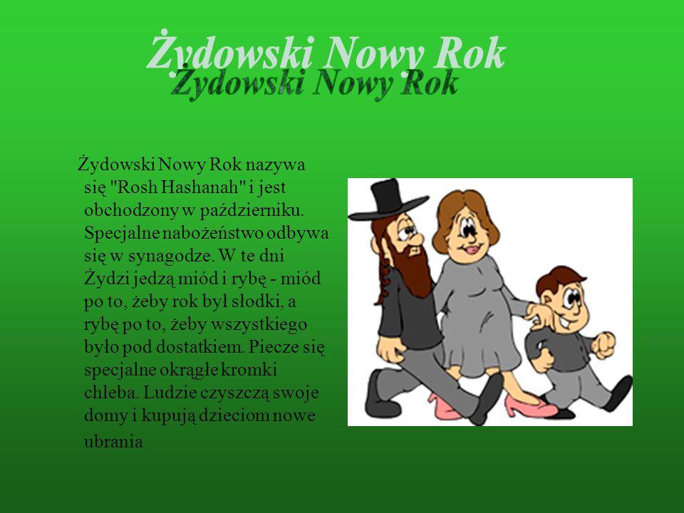 Żydowski Nowy Rok.