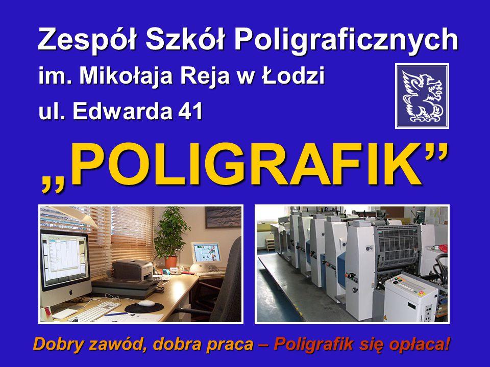 Dobry zawód, dobra praca – Poligrafik się opłaca!