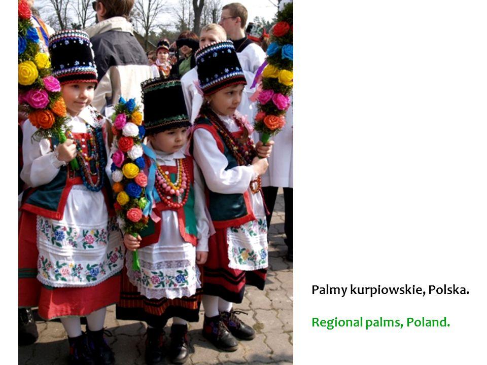 Palmy kurpiowskie, Polska.