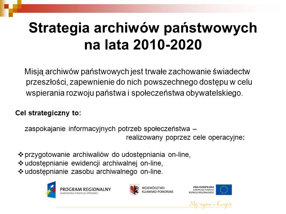 Strategia archiwów państwowych na lata 2010-2020
