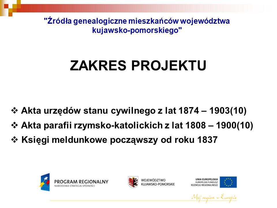 Źródła genealogiczne mieszkańców województwa kujawsko-pomorskiego