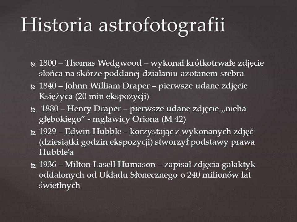 Historia astrofotografii