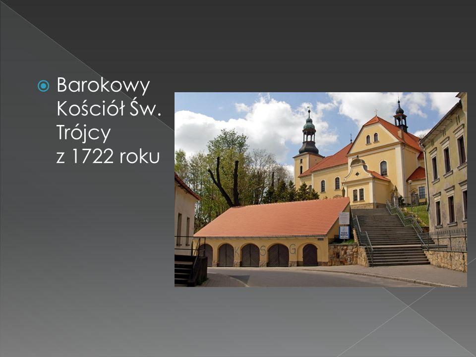 Barokowy Kościół Św. Trójcy z 1722 roku
