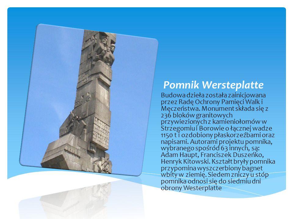 Pomnik Wersteplatte