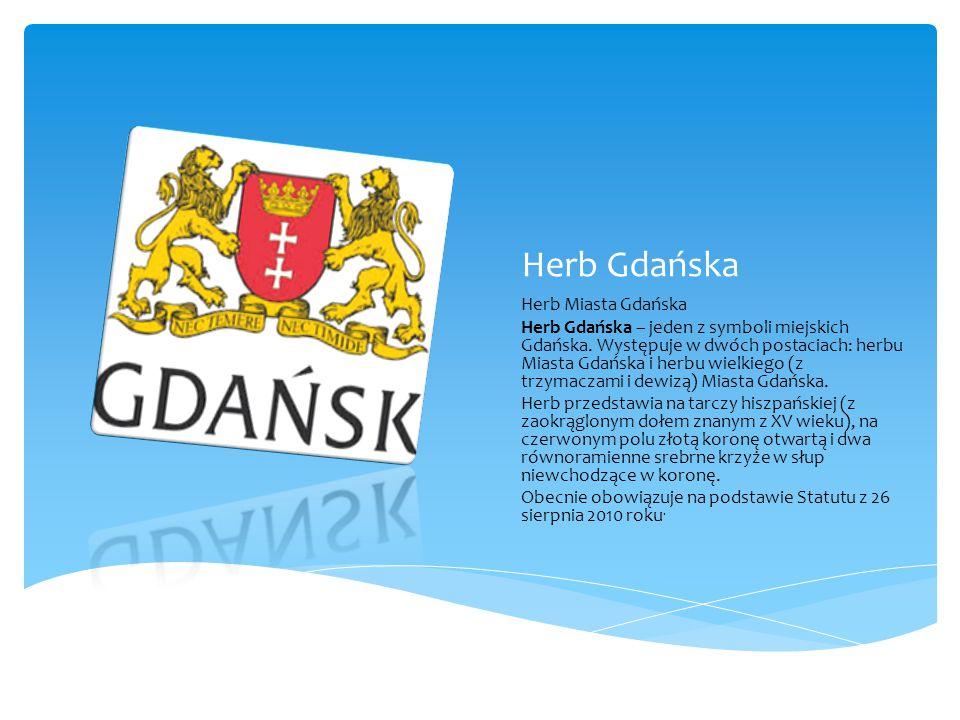 Herb Gdańska Herb Miasta Gdańska