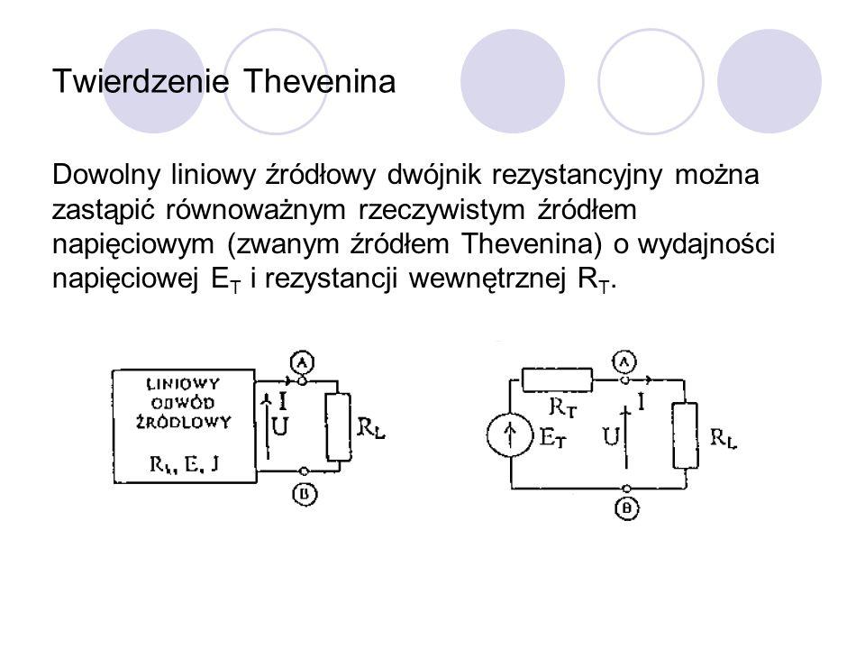 Twierdzenie Thevenina