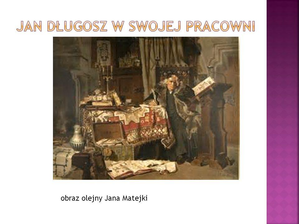 Jan Długosz w swojej pracowni