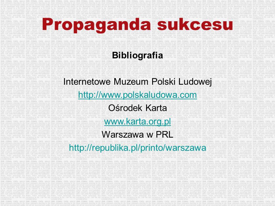 Internetowe Muzeum Polski Ludowej